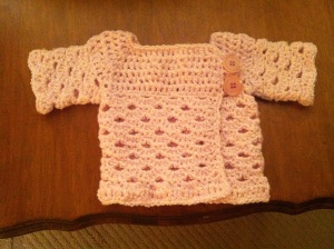 Baby girl sweater (pink)