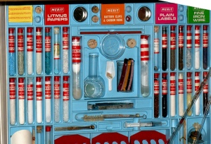 Chemistry set. Image courtesy of Brighton Toy and Model Museum
