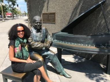 Oscar Peterson Statue in Ottawa!